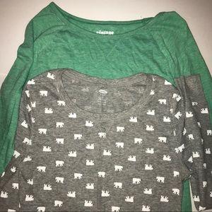 Old Navy shirt bundle size large